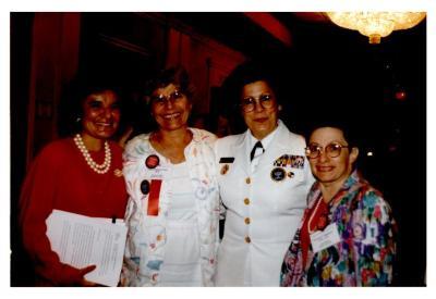 Helen Rodríguez-Trías (second from left)