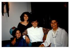 Helen Rodríguez-Trías and her family