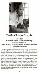Eddie González career biography