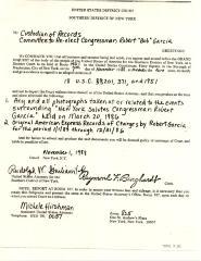Court Subpoena to Committee to Re-Elect Congressman Robert Garcia
