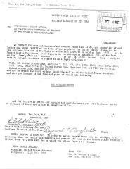 Court Subpoena for Congressman Robert Garcia