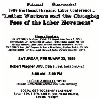 Latino Workers and the Changing Face of the Labor Movement