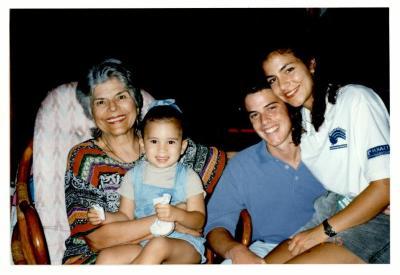 Helen Rodríguez-Trías and her children