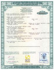 Marriage Certificate for Helen Rodríguez-Trías and Edward González