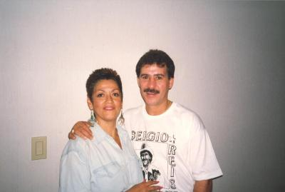 Linda A. Rios with Tito Rojas