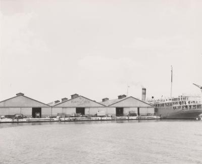Pier of the New York & Porto Rico Steamship Company