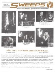 Sweeps - The New York Chapter of the National Television Academy