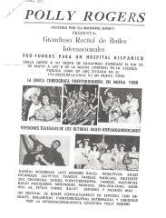 Grandioso Recital de Bailes Internacionales / Grand Recital of International Dance