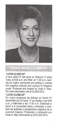Latin Close-Up TV listing