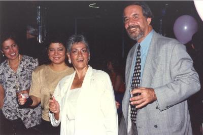 Linda A. Rios at party
