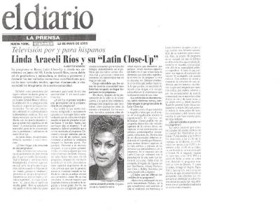 "Linda Araceli Rios y su ""Latin Close-Up"" / Linda Araceli and her ""Latin Close-Up"""